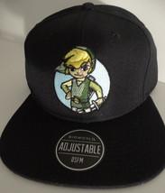 The Legend Of Zelda Link Core Video Game Nintendo Snap Back Hat Nwt - $22.95