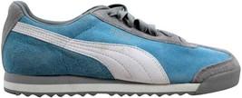 Puma Roma Pigskin EXT Sky Blue/Vapor Blue-White 341959 16 Women's SZ 7 - $56.70