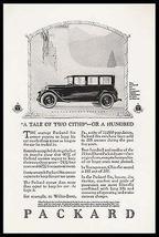 Packard Six Sedan Limousine 7 Passenger 1925 Automobile Ad - $12.99