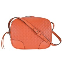 Gucci Mini Bree Microguccissima Soft Calf Margaux Sun Orange Hand Bag - $1,400.00