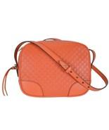 Gucci Mini Bree Microguccissima Soft Calf Margaux Sun Orange Hand Bag - $1,400.00