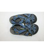 KEEN Blue Sport Sandals Fabric Women Sandal Shoes Size 7.5 EU 38 - $19.80