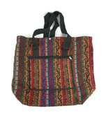 Turkish Hand Bag  Made in Turkey Fabulous Colorful 19x21 inches - $46.72