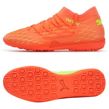 Puma Future 5.3 Netfit OSG TT Football Boots Shoes Soccer Cleats Orange 10593901 - $91.99