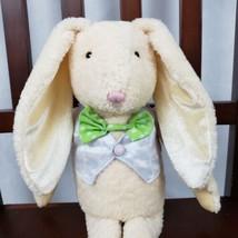 Hallmark Cards Plush Bunny Rabbit Movable Part Medium Stuffed Animal Col... - $12.86