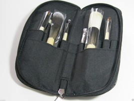 The Essential 9-Piece Travel Cosmetic Makeup Brush Set - $38.00