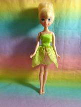 Disney 2010 Jakks Pacific Tinkerbell Doll Green / Pink Dress - $9.85
