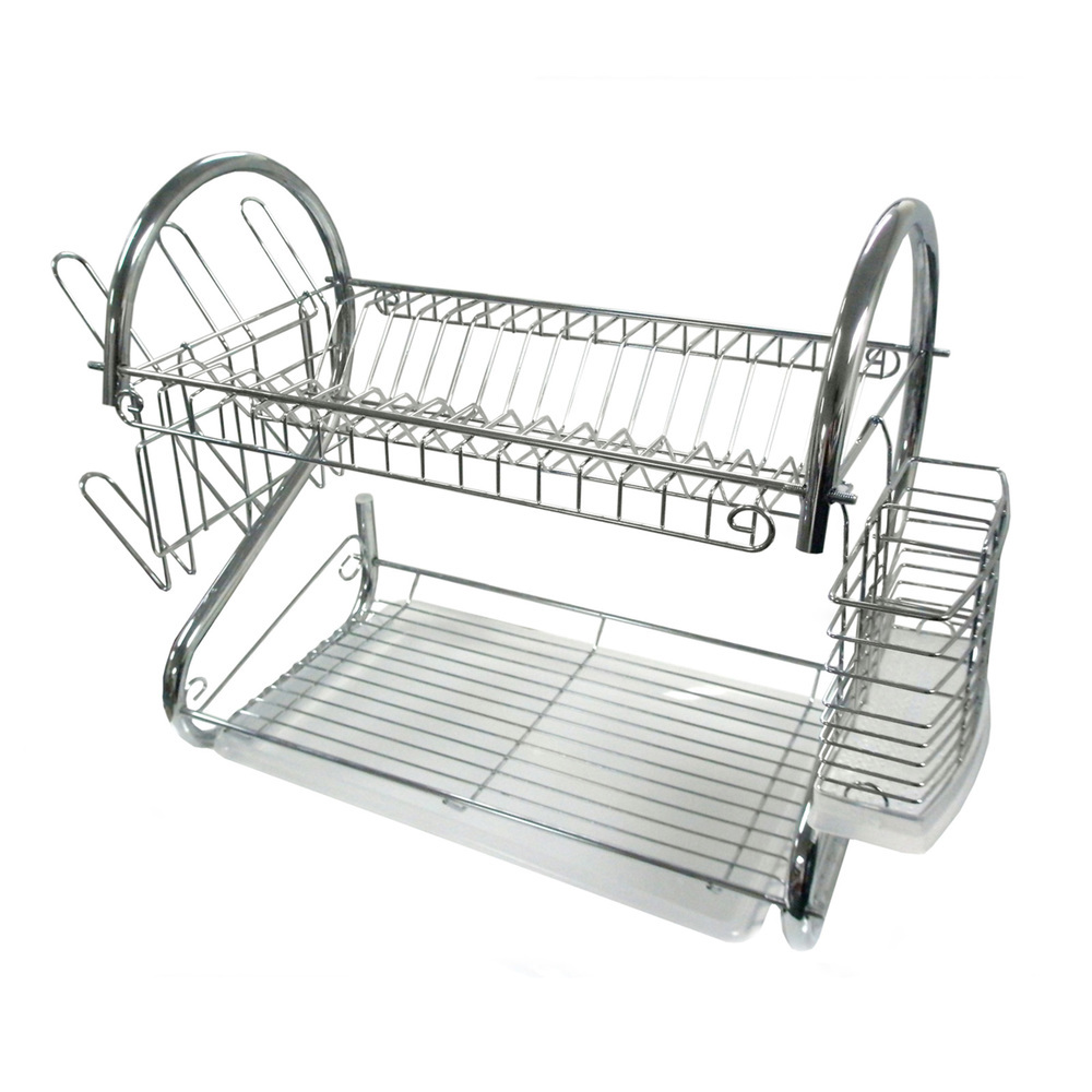 Better Chef 22-Inch Chrome Dish Rack