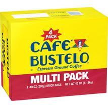 Cafe Bustelo Ground Coffee (10 oz., 4 pk.) + Free Shipping - $12.98