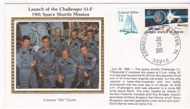 LAUNCH OF CHALLENGER 51-F KENNEDY SPACE CENTER, FL JULY 29 1985 COLORANO... - $2.98