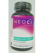 Neocell  Hyaluronic Acid, Nature's Moisturizer 60 Capsules EXP 12/21 - $15.83