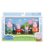"Nickelodeon Jazwares Peppa Pig and Family 3"" Figure 4 Pack-Muddy Puddles  - $44.14"
