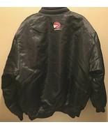 Atlanta Hawks NBA Hardwood Classics Black Red Reversible Nylon Button Ja... - $49.49