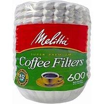 Melitta Basket Coffee Filters, 600 ct. (pack of 6) - $49.99