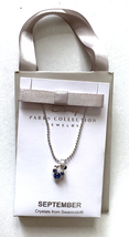 Disney Parks Mickey Mouse Faux Gem September Birthstone Necklace NEW - $29.90