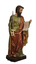 Saint Paul the Apostle 45 Inch Resin Colored Large Statue - $2,199.99