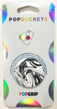 PopSockets Phone & Tablet Grip White Black Marble PopGrip With Swappable Top NEW