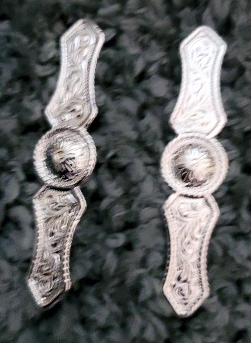 Silver bars 7 8 x 4