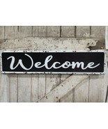 Welcome Metal Sign Vintage Style Embossed Sign - $29.69