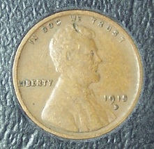1915-D Lincoln Wheat Back Penny VF (Details) #0133 - $3.99