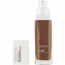 Maybelline Superstay Full Coverage Liquid Foundation #360 MOCHA - $7.06