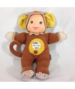 Goldberger Baby's First Sing and Learn Doll Monkey - $13.09