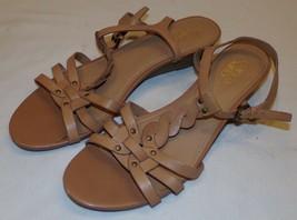 Franco Sarto Tan Strappy Womens Sandals 9.5M 9.5 M - $24.09