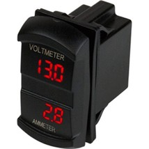 Sea-Dog Dual Volt/Amp Meter Rocker Style Switch - $46.98