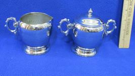 LaBelle Silver Plate Silverplate Creamer & Suga... - $13.85