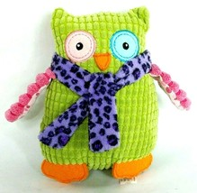 """Mary Meyer Colorful Green Pink Purple Owl Plush 6.5"""" - $11.88"""