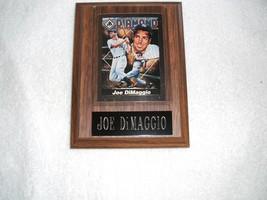 Joe Di Maggio plaque of the Yankee Clipper w/free shipping - $25.00