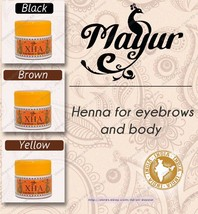 NEW Mayur - Henna for eyebrows and body - $12.87+