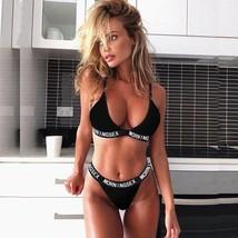 Hot Bra Set Thongs Bra Set Push Up Vest Top Women Underwear Panty Set Le... - $11.94+
