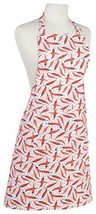 Now Designs Basic Cotton Kitchen Chef's Apron, Caliente - $19.95