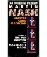 Martin Nash - Master Card Magician - Volume 1: The Fun Routine & Magicia... - $43.12