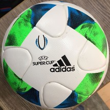 ADIDAS UEFA SUPER CUP 2016 FOUNDATION SOCCER BALL THERMAL REPLICA SIZE 5 - $49.99