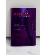 Purse Essentials Purple Travel Size Case Of 40 Facial Blotting Papers - $2.96