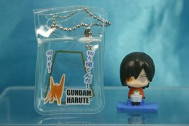 Mobile Suit Gundam 00 Paku Paku Mini Figure Keychain Gashapon Allelujah ... - $11.99