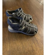 Children's Place Boy Infant Brown Sandals Non-Marking Soles Size 7 - $12.86