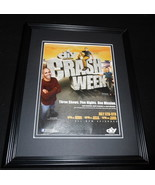 Crash Week DIY Network 2010 Framed 11x14 ORIGINAL Advertisement Ahmed Ha... - $32.36