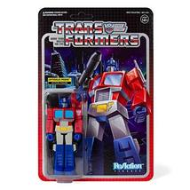 Super 7 Transformers: Optimus Prime Reaction Figure, Multicolor, Model:T... - $22.98