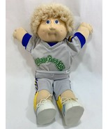 Vtg 1983 Cabbage Patch Kids Boy Doll Fuzzy Blonde Hair Freckles Blue Eye... - $49.49