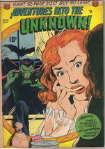 Adventures Into The Unknown Comic Book #21, ACG 1951 VERY GOOD+ - $63.77
