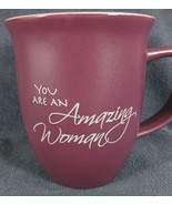 You Are An Amazing Woman Coffee Mug Cup 14oz Proverbs 31:29 Abbey Gift - $17.95