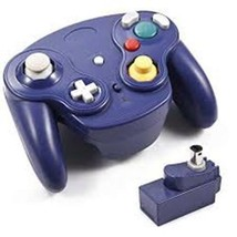 1 Nintendo Game Cube Wii Wireless Wavebird Game Pad Controller Blu 2.4 G... - $22.30