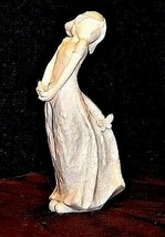 Young Girl holding a ButterflyFigurine Gracious Journey AA18 – 1147 - $49.45