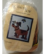 "Watch Dog Quick Needlepoint Kit Visions Now 15"" x 15"" Opened Complete - $14.50"