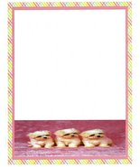 Puppies On Pink Carpet Stationery Printer Paper 26 Sheets - $9.89