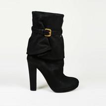 Prada Suede Buckled Boots SZ 36 - $235.00
