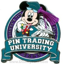 WDW Pin Trading University Disney Pin Celebration Mickey Mouse LE 1500 Pin - $11.75